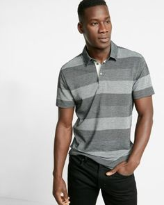 Polo shirts for men are popular choices of shirts for men worldwide. Polo shirts need no introductio Polo Shirt Style, Mens Polo T Shirts, Printed Polo Shirts, Striped Jersey, Striped Polo Shirt, Pique Polo Shirt, Sport Man, Cool Outfits, Mens Facial