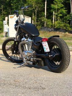 The Chopper Underground Bobber Kit, Bobber Bikes, Bobber Motorcycle, Bobber Chopper, Harley Davidson Motorcycles, Custom Motorcycles, Custom Bikes, Harley Bikes, Honda Shadow Bobber