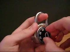 Crack a combination lock in 60 seconds! Without knowing the combo! - How many times I could have used this information when the kids forgot the combo!!!