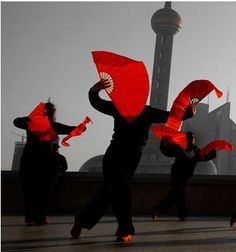 tai chi chuan, the bund Shanghai china