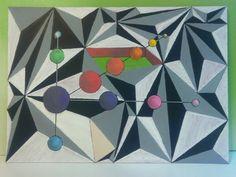 En proceso #Cheb2015 #GeometrikArt