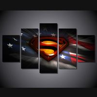 5 Pcs With Framed Printed Movie Superman Art PIC Painting children's room decor print poster picture canvas wall art pictures Poster Pictures, Wall Art Pictures, Canvas Pictures, Hang Pictures, Canvas Wall Art, Wall Art Prints, Poster Prints, Canvas Prints, Canvas Canvas