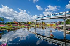 Epcot Monorail by disneybelle. Please Like http://fb.me/go4photos and Follow @go4fotos Thank You. :-)