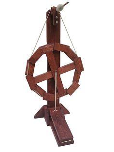 Ravelry: Bishopofknit's $7.00 Spinning Wheel