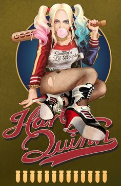Harley Quinn by Reducto - Buy Print HERE