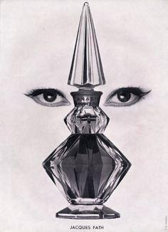 Jacques Fath (Perfumes) 1952 Canasta.
