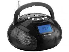 Rádio Portátil FM SP145 Boombox - Multilaser