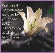 Amen! Thank You, LORD!