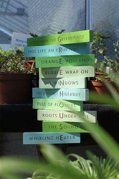 Planting Poetry - Burgess Studio