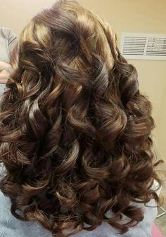 #curls #halfup