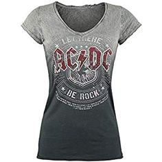 Camiseta mujer AC DC Precio:EUR 26,99