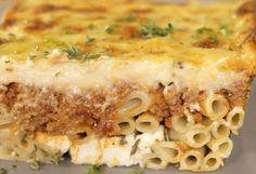 Το παστίτσιο του Άκη - Η ΔΙΑΔΡΟΜΗ ® Lasagna, Macaroni And Cheese, Cooking Recipes, Foods, Drinks, Ethnic Recipes, Food Food, Drinking, Mac And Cheese