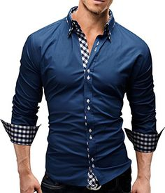 Merish Dress Shirt Slim Fit 3 colors sizes S-XXL Men`s Modell 37 Blue S MERISH http://www.amazon.co.uk/dp/B00JR6ABES/ref=cm_sw_r_pi_dp_vn1qvb1P2JH4R