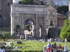 Arch of Septimius Severus (Rome) 2 - האימפריה הרומית – ויקיפדיה