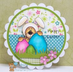 Barry Bunny's Happy Easter by Zacksmeema - Cards and Paper Crafts at Splitcoaststampers