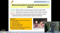 Health and Social Care Unit 1 Infancy - Physical Development Lesson 1