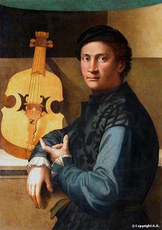 Paolo Zacchia, a.k.a. Zacchia da Vezzano (1490-61), The Viol Player, c. 1540, Paris, Louvre