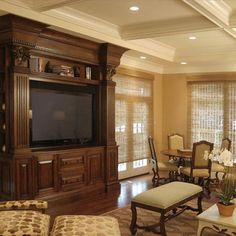 Living Room Soffit Above Cabinets Design, Pictures, Remodel, Decor and Ideas