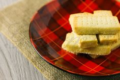 Scottish Shortbread is simply the best cookie.  Three simple ingredients... butter, flour and sugar.  #CookieChatter