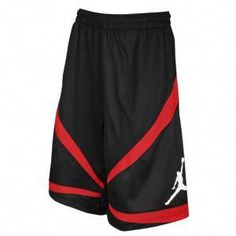 d5ac08a474e828 Jordan Triangle Triumph Short - Men s - Basketball - Clothing - Black Gym  Red
