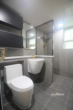 노은동 열매마을 8단지 계룡리슈빌 47평 아파트 인테리어 대전 홈데코 리모델링 : 네이버 블로그 Deco, Bathroom, Corner Bathtub, Toilet, Home, Bathtub, Dressing Room, Home Deco, Home Collections
