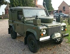 Land Rover Defender Truck Utility Light Winterised and Waterproofed FFR Plain Hard Top 90 Diesel