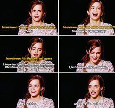 Emma this Is why I love you so much