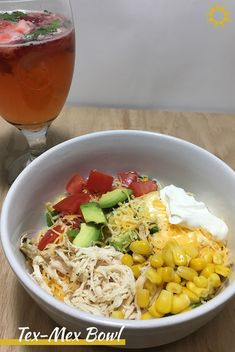 Make something different for Taco Tuesday with this easy, delicious Tex-Mex Bowl. Great for a weeknight dinner or to bring for lunch.
