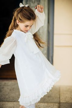 "Dress from the new spring/summer 2015 collection ""A Royal Tale"" by Latvian kids fashion label ""Aristocratic Kids"", Riga."
