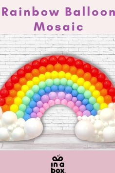 Das wunderbare, magische bunte Regenbogen Ballonmosaik ist nicht nur easy peasy zu Hause selbst gemacht, sondern auch noch der Hingucker auf jeder Party! Ob magische Einhornparty, bunter Kindergeburtstag oder fabelhafte Regenbogenfete, das DIY Ballon Mosaik passt einfach immer! Party Box, Diy Party, Diy Ballon, Rainbow Balloons, Party Decoration, Easy, Diy, Unicorn Party, Dekoration