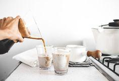 Clean Eating | Medjool Date + Vanilla Bean Café Au Lait De Coco - offbeat + inspired
