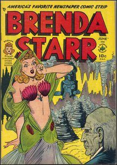 Brenda Starr vol. 2 #3, June 1948.