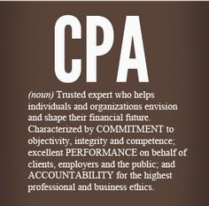 I am a successful CGA, CPA! Studying and working to complete my CGA (CPA) has not been easy, however it has been fulfilling. My CGA (CPA) designation is the next step in my journey to the perfect career, my expected completion is September 2015.