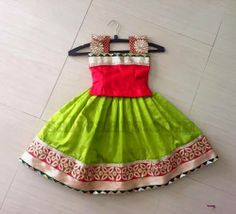 Indian Dresses: Simple and Pretty Kids Skirt