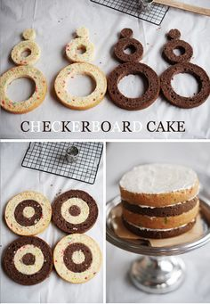 How to make a checkerboard cake.