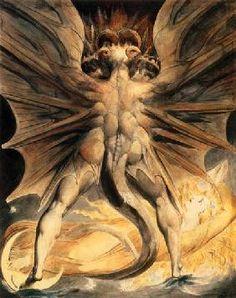 Blake, William : Roter Drache