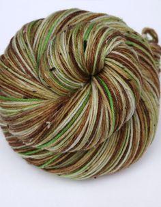 Hand Dyed Fingering/Sock Yarn Superwash Merino/Nylon by Quaere, $24.00