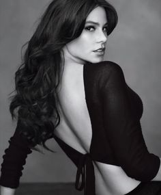 Sofia Vergara.  Beautiful Women With Gorgeous Long Hair: Posted by Ciao Bella and Venus Hair Extensions.