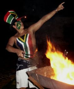 Braai vleis action shot of a tong master 😁 World Cup Final, Rugby World Cup, South Africa, Followers, Southern, Boards, Spirit, African, Action