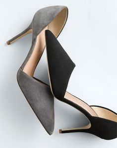 J.Crew women's Elsie suede d'Orsay pumps. To pre-order, call 800 261 7422 or email verypersonalstylist@jcrew.com.