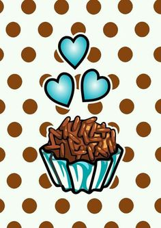 Brigadeiro detalhe coração Cute Wallpapers, Wallpaper Backgrounds, Bread Packaging, Cake Illustration, Lettering Tutorial, Sweet Couple, Beautiful Drawings, Happy Anniversary, Purses And Handbags