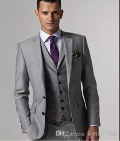 gray and Plum wedding color - Google Search                                                                                                                                                                                 More