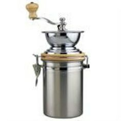 Stainless Steel Coffee Mill. New in our web shop.