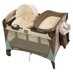 Graco Newborn Napper Pack n Play $159.99 - Adorable and Awesome to boot!