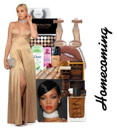 """""""Homecoming"""" by denise-loveable-bray ❤ liked on Polyvore featuring MAC Cosmetics, Blue Nile, Gianvito Rossi, Dove, Lime Crime, SheaMoisture and NARS Cosmetics"""