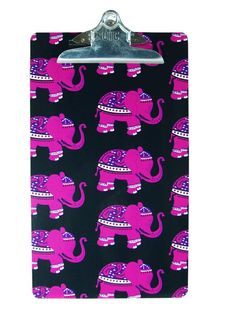 Large Clipboard - Eleanor Hollywood Cute Office Supplies, School Supplies, Elephant Room, Pink Office, College Organization, Working Woman, Clipboard, Student Gifts, Graduation Gifts