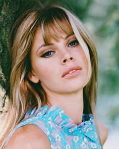 Britt Ekland ( perfect liner & face too)