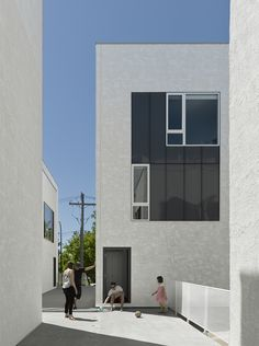 Built by 5468796 Architecture in Winnipeg, Canada with date 2015. Images by James Brittain. youCUBE is an 18 unit housing development that explores the potential for density and affordability on a narrow, 63' ...