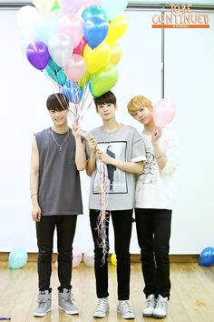 Moonbin, Eunwoo, Sanha ♡ Never give up on the lovely things that make you happy ♡