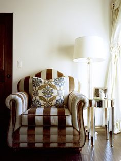 Love the chair and pillow (colors for living room)